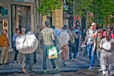 Madrid African vendors 1-7